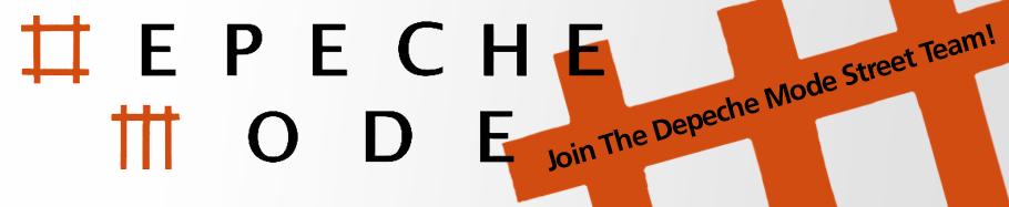 Depeche Mode Street Team